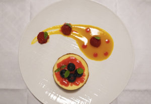 cheese cake aux fruits rouge